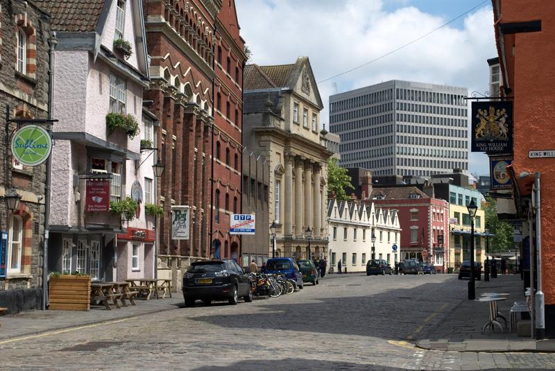 King Street in Bristol