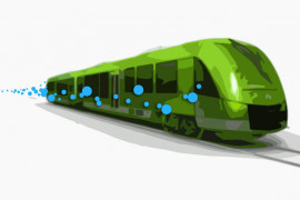 Fuel cell powered train under development